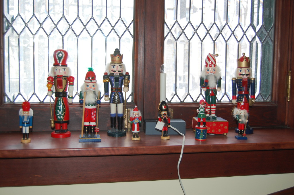 The nutcrackers. A classic.