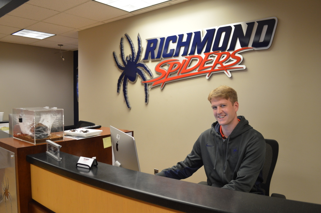 Guest Ryan Butler. He played basketball for the Richmond Spiders at the same time Natalie swam for the Spiders. They were both hired to be DOBO's at the University.