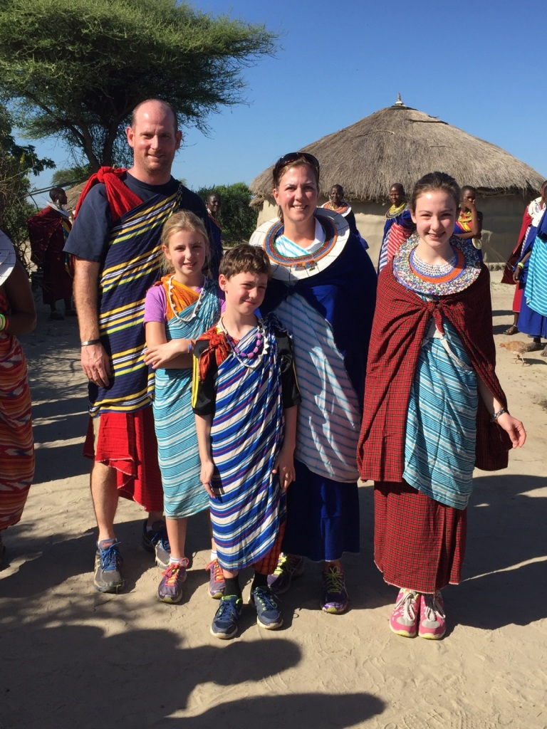 Here they are!! Polly and her family in Tanzania!