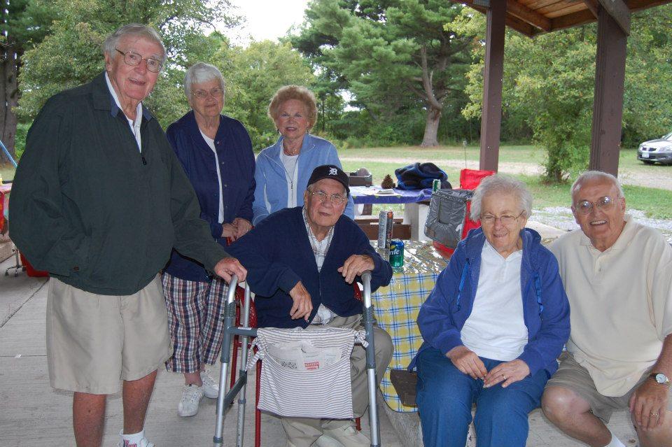 2012 Family picnic the elders