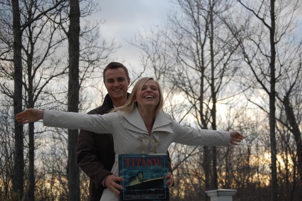 Natalie and Michael Titanic
